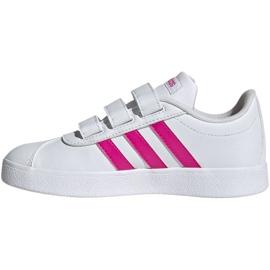 Adidas Vl Court 2.0 Cmf C Jr EG3880 shoes white 2
