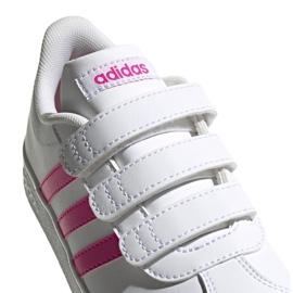 Adidas Vl Court 2.0 Cmf C Jr EG3880 shoes white 3