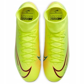 Nike Mercurial Superfly 7 Academy Mds FG / MG M BQ5427-703 football shoes yellow yellow 1