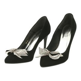 Fashion Pumps On High Heels Espinto 993 / 1K black grey 3