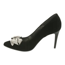 Fashion Pumps On High Heels Espinto 993 / 1K black grey 2