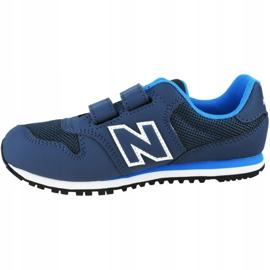 New Balance Jr YV500RB shoes navy 1
