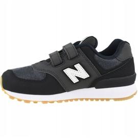 New Balance Jr YV574DMK shoes black 1