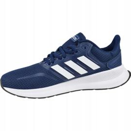 Adidas Runfalcon K Jr EG2544 shoes navy 1