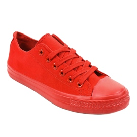Red classic men's sneakers MC1-A5 1