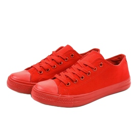 Red classic men's sneakers MC1-A5 2