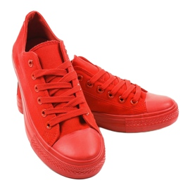 Red classic men's sneakers MC1-A5 3