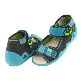 Befado yellow children's shoes 350P006 4