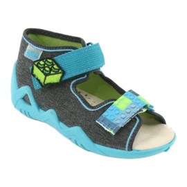 Befado yellow children's shoes 350P006 1
