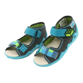 Befado yellow children's shoes 350P006 3