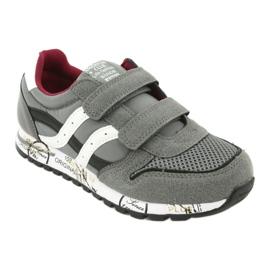 American Club American Boys' Gray Club Sports Shoes ES02 white black red grey 1