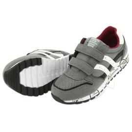 American Club American Boys' Gray Club Sports Shoes ES02 white black red grey 5