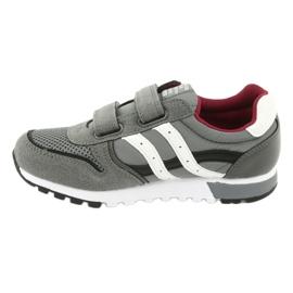 American Club American Boys' Gray Club Sports Shoes ES02 white black red grey 2