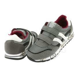 American Club American Boys' Gray Club Sports Shoes ES02 white black red grey 4