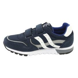 Grenade American Club ES02 boys' sports shoes white navy blue grey 2
