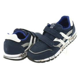 Grenade American Club ES02 boys' sports shoes white navy blue grey 4