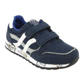 Grenade American Club ES02 boys' sports shoes white navy blue grey 1