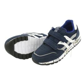 Grenade American Club ES02 boys' sports shoes white navy blue grey 5