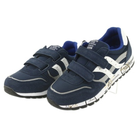 Grenade American Club ES02 boys' sports shoes white navy blue grey 3