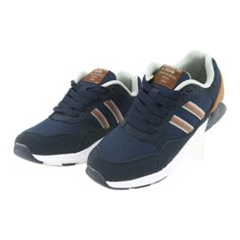 American Club BS10 Navy Blue Sport Shoes brown 3