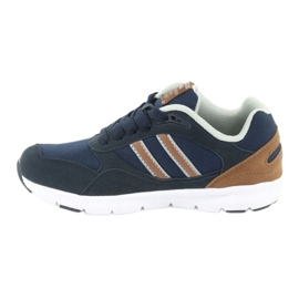 American Club BS10 Navy Blue Sport Shoes brown 2