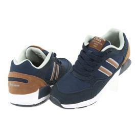 American Club BS10 Navy Blue Sport Shoes brown 4