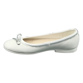 Ballerinas with a bow, white pearl American Club GC29 / 19 multicolored 1