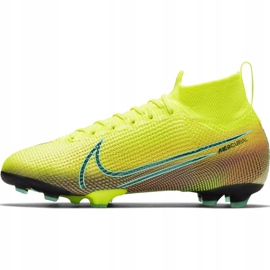 Nike Mercurial Superfly 7 Elite Mds Fg Jr BQ5420-703 football shoes yellow yellow 2
