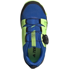 Adidas Terrex Agravic Boa K Jr EE8475 shoes navy blue multicolored green 1