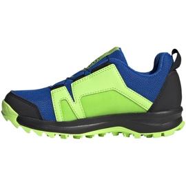 Adidas Terrex Agravic Boa K Jr EE8475 shoes navy blue multicolored green 2