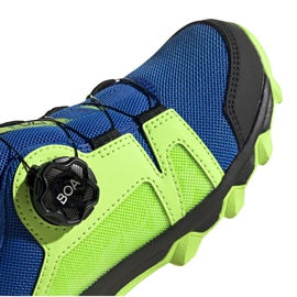 Adidas Terrex Agravic Boa K Jr EE8475 shoes navy blue multicolored green 3