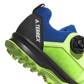 Adidas Terrex Agravic Boa K Jr EE8475 shoes navy blue multicolored green 4