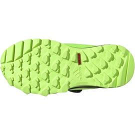 Adidas Terrex Agravic Boa K Jr EE8475 shoes navy blue multicolored green 6