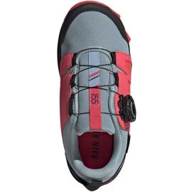 Adidas Terrex Agravic Boa K Jr EH2687 shoes red grey 1
