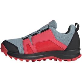 Adidas Terrex Agravic Boa K Jr EH2687 shoes red grey 2