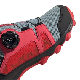 Adidas Terrex Agravic Boa K Jr EH2687 shoes red grey 3