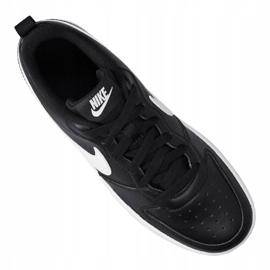 Nike Court Borough Low 2 (GS) Jr BQ5448-002 shoes black 5