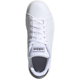 Adidas Advantage K Jr FW2588 shoes white 1