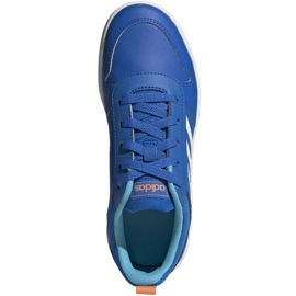 Adidas Tensaur K Jr EG2551 shoes blue 1