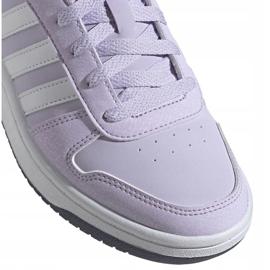 Adidas Hoops 2.0 K Jr EG9075 shoes violet 2