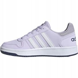 Adidas Hoops 2.0 K Jr EG9075 shoes violet 3