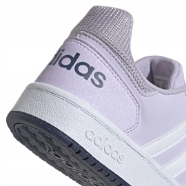 Adidas Hoops 2.0 K Jr EG9075 shoes violet 4