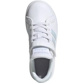 Adidas Grand Court C Jr EG6738 shoes white 1