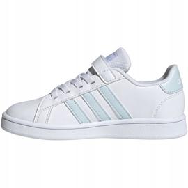 Adidas Grand Court C Jr EG6738 shoes white 2