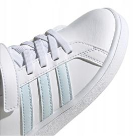 Adidas Grand Court C Jr EG6738 shoes white 3