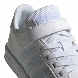 Adidas Grand Court C Jr EG6738 shoes white 4