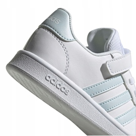 Adidas Grand Court C Jr EG6738 shoes white 5