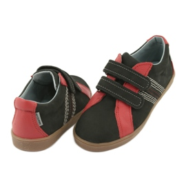 Boys' Velcro shoes Mazurek 1235 black red 5
