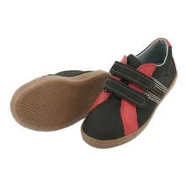Boys' Velcro shoes Mazurek 1235 black red 4