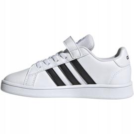 Adidas Grand Court C Jr EF0109 shoes white 2